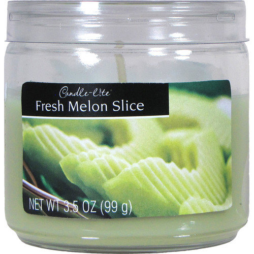 Fortune Products Candle-Lite Fresh Melon Slice Jar Candle (Set of 12)