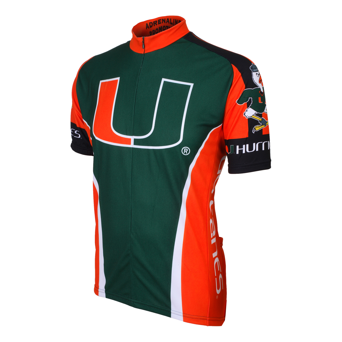 Adrenaline Promotions University of Miami Hurricanes Cycling Jersey