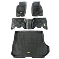 Outland Automotive 391298831 Black Floor Liners for 93-98 Jeep Grand Cherokee ZJ