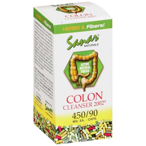 Sanar Naturals: Colon Cleanser 2002 90Mg Capsules, 450 ct