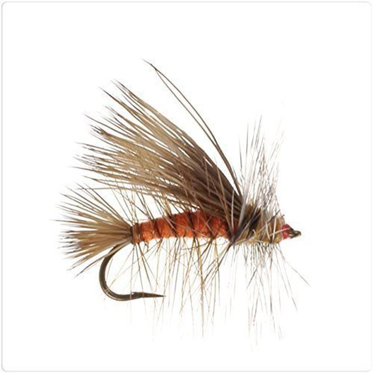 SuperFly Stimulator Dry Fly, Orange, Size 10