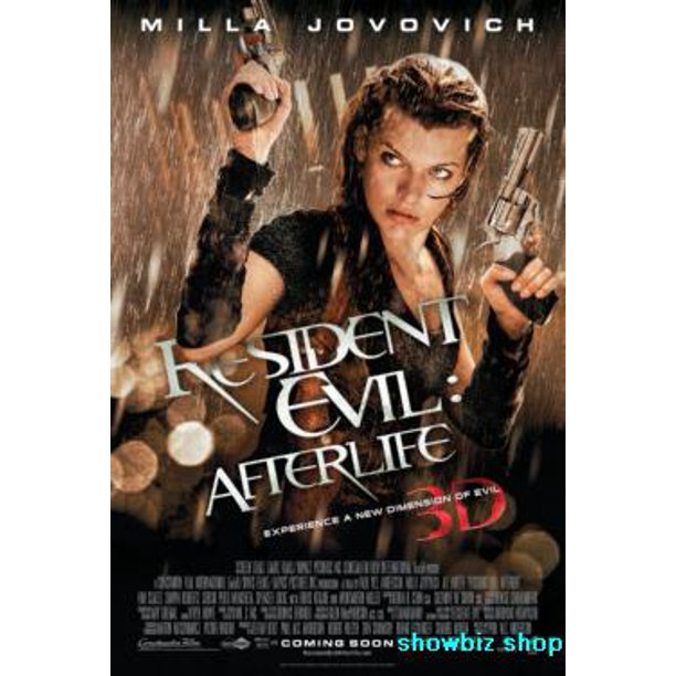 Resident Evil Afterlife Movie Poster 11x17 Mini Poster Walmart Com Walmart Com