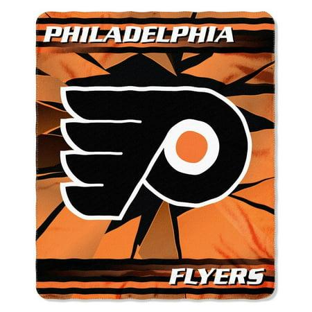 Philadelphia Flyers NHL 50 x 60 inch Soft Fleece Throw Blanket Philadelphia Flyers Throw