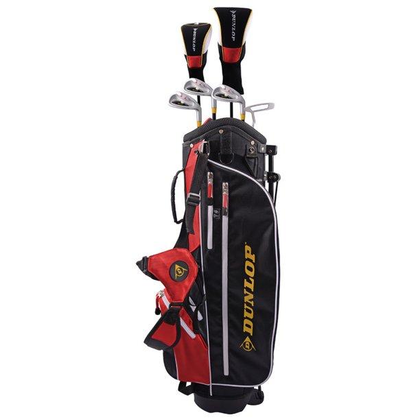 New Junior Dunlop Rebel Complete Golf Set Ages 9 12 Driver Irons Bag Putter Walmart Com Walmart Com