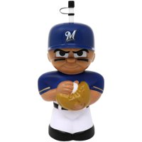 Milwaukee Brewers 16oz. Big Sip 3D Water Bottle - No Size