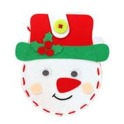 DIY Craft Sewing Felts Handbag Kit Christmas Candy Gift Bags Kids Sewing Toys