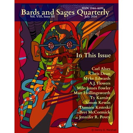 Carl Edwards Hood (Bards and Sages Quarterly (July 2016) -)