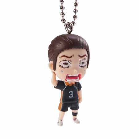 Haikyuu!! Best Bang!! Azumane Asahi Figure Keychain - image 1 of 1
