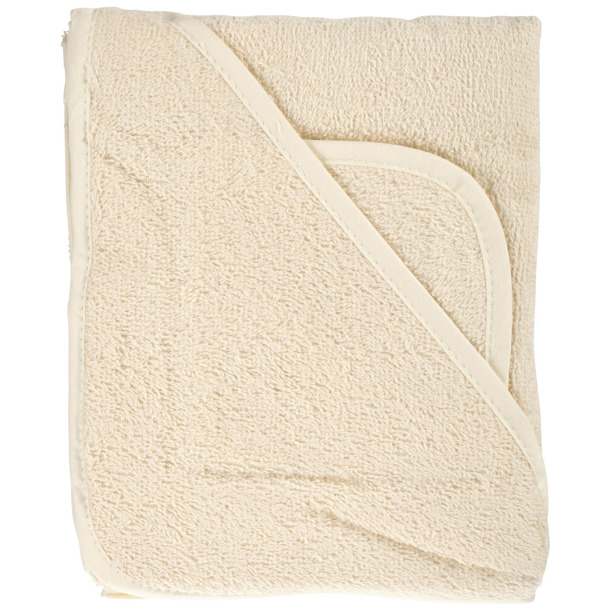 TL Care® 100% Cotton Terry Hooded Towel & Wash Cloth Set 2 pc Pack
