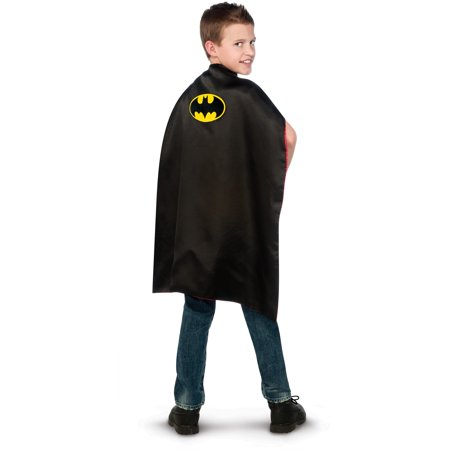 Batman BB / Superman Reversible Cape - Child](Batman Wholesale)