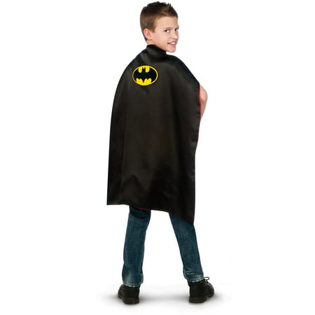 Batman BB / Superman Reversible Cape - Child