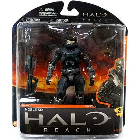 Halo 1 Toys - McFarlane Toys Halo Reach Halo Reach Series 1 Noble Six Action Figure