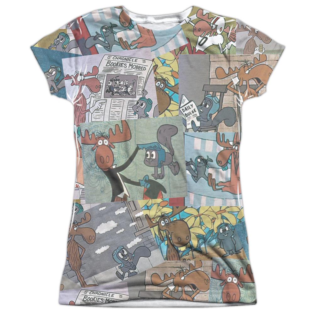 Rocky & Bullwinkle Cartoon TV Series Retro Clip Reel Juni...