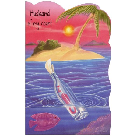 Freedom Greetings Message in Bottle: Husband Valentine's Day (Best Romantic Messages For Husband)