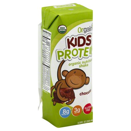 Orgain Health Kids Organic Chocolate Nutritional Shake, 8.25 Fl.