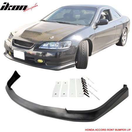 Fits 98-00 Accord Coupe 2Dr Sport Urethane Front Bumper Lip Spoiler Body -