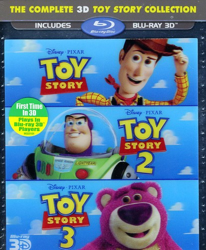 The Complete 3D Toy Story Collection (Blu-ray)