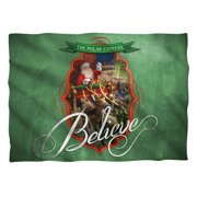 Polar Express 2004 Children's Animated Adventure Movie Believe Pillow Case