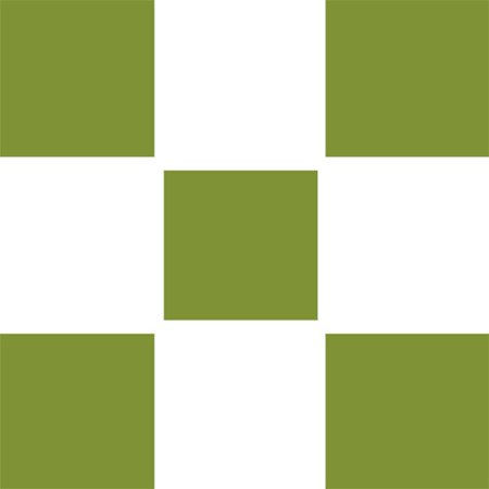 Brewster Home Fashions 12442000 Stylin Green Square Self-stick 5pc Wall Accent (Warehouse Fashion Square)