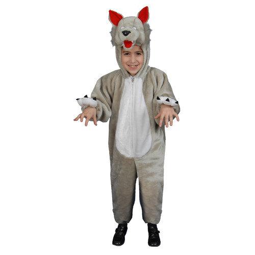 Dress Up America Kids Plush Wolf Costume