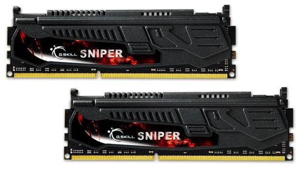 G.SKILL Sniper Series F3-2133C10D-16GSR 16GB (2 x 8GB) 240-Pin DDR3 SDRAM 2133 (PC3 17000) Desktop Memory