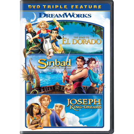 The Road to El Dorado / Sinbad: Legend of the Seven Seas / Joseph: King of Dreams Triple Feature (Sinbad Legend Of The Seven Seas Marina)