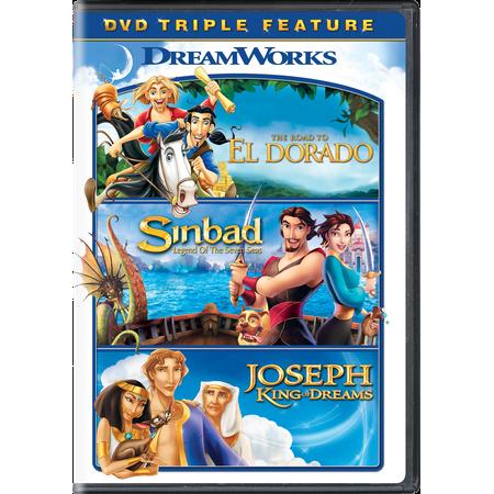 The Road to El Dorado / Sinbad: Legend of the Seven Seas / Joseph: King of Dreams Triple Feature (Road King Riders)