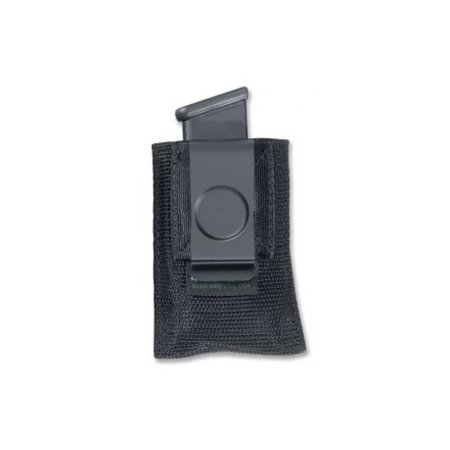 1 Single Mag Case (Elite Survival Systems Single Open Mag Pouch w/Clip for Double Column 9mm/40/45 )