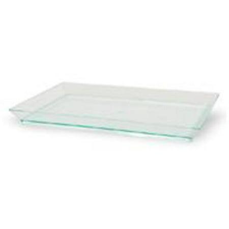 PacknWood 210KLAR1813 Rectangular Transparent Green Klarity Tray, Pack Of 100 - image 1 of 1