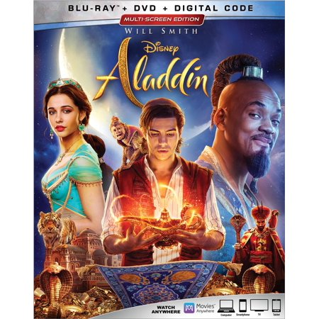 Aladdin (Live Action) (Blu-ray + DVD + Digital Copy)