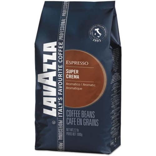Lavazza Super Crema Espresso Coffee Beans, 2.2 lb
