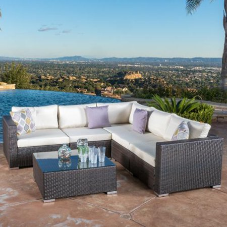 Nfusion Multi Wicker Sectional Sofa Set