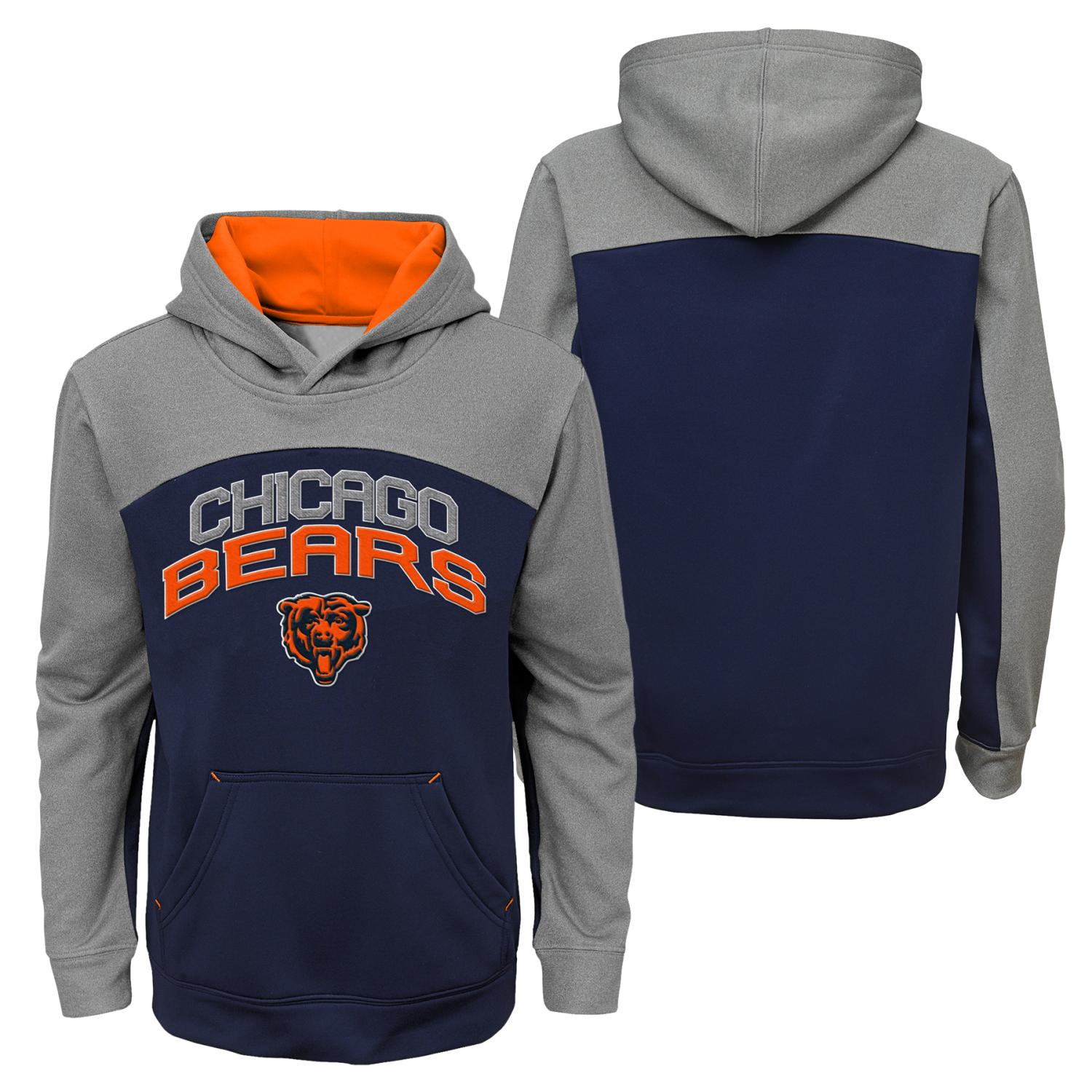 """Chicago Bears Youth NFL """"Arc"""" Pullover Hooded Sweatshirt"""