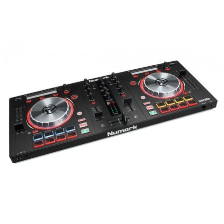 Numark Mixtrack Pro 3   Usb Dj Controller With Trigger Pads   Serato Dj Intro Download  Includes Built In Sound Card