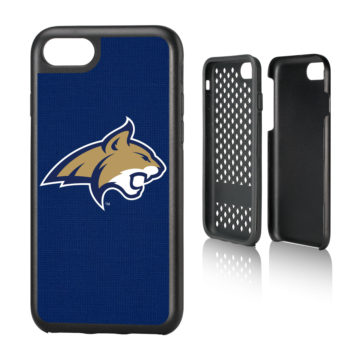 MSU Montana State Bobcats Solid Rugged Case for iPhone 8 / 7