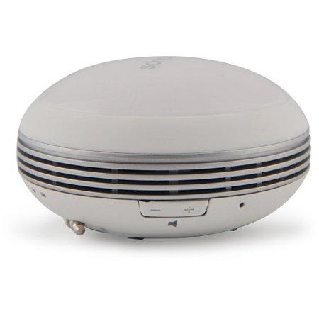 Microlab M102 Daisy-Chain Multi-Color Compact Mini Stereo Speaker, White