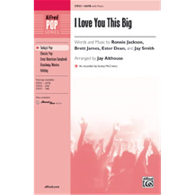 Alfred 00-37938 I LOVE YOU THIS BIG-STRX CD - image 1 of 1