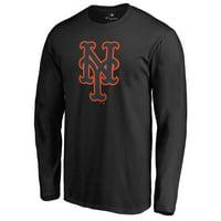 New York Mets Taylor Long Sleeve T-Shirt - Black