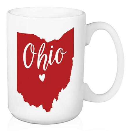 Ohio State Pride Columbus Love 15 oz Mug - Wigs Columbus Ohio