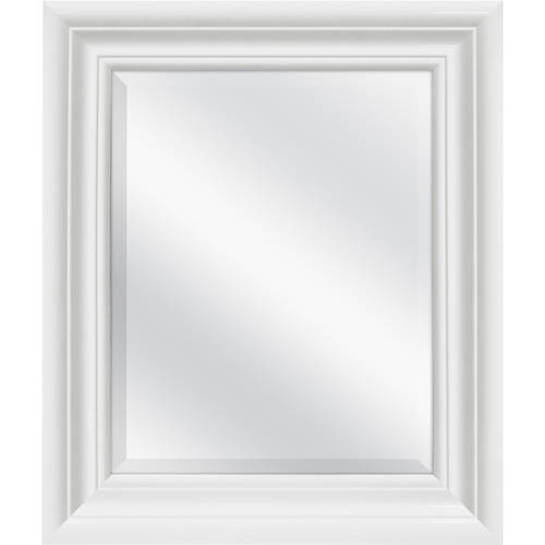 "Click here to buy Better Homes and Gardens 23""x27"" Black Beveled Wall Mirror by MCS Industries, Inc.."