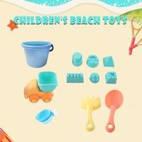 TPE Sand Sandbeach 2019 hotsales kids Beach Castle Bucket Spade Shovel Rake Water Tools Toys