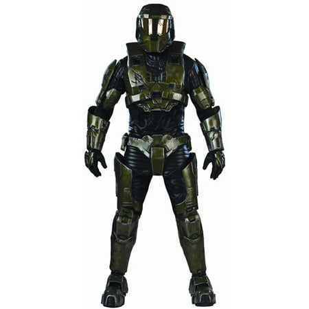 Halo Master Chief Collector's Adult Halloween Costume](Master Cheif Helmet)