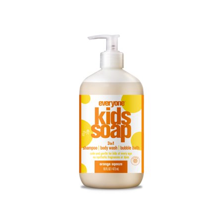 Everyone™ Kids 3-in-1 Orange Squeeze Shampoo, Soap, & Bubble Bath