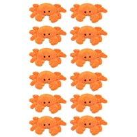 "Wildlife Tree 12 Pk Crab 4"" Small Stuffed Animals Bulk Ocean Sea Party Favors"