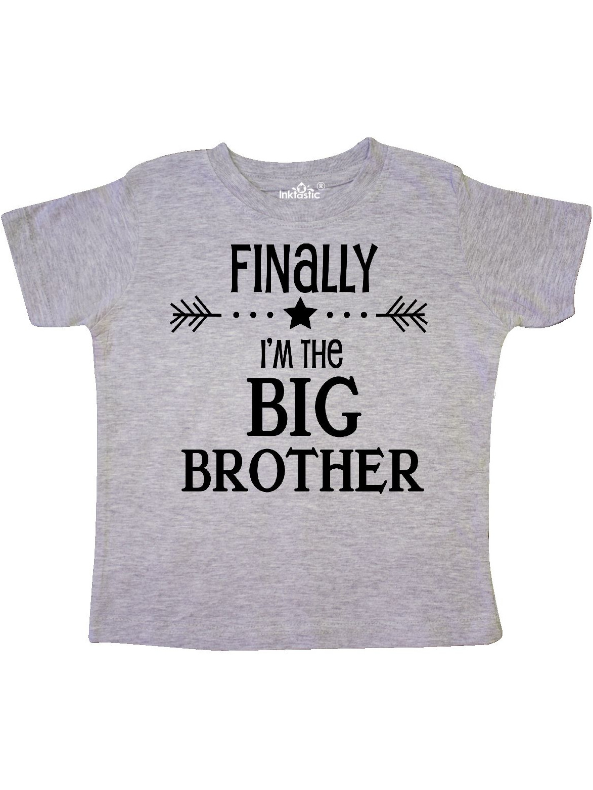 Finally I'm the Big Brother Toddler T-Shirt