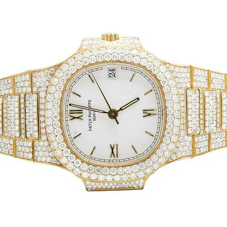 Patek Philippe Patek Philippe Nautilus 3800/001 with 17.5 Ct VS Diamond