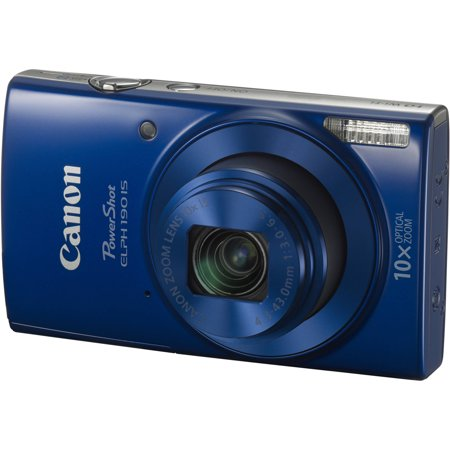 Canon PowerShot ELPH 190 IS Digital Camera (Blue) (Best Canon Elph Camera Reviews)