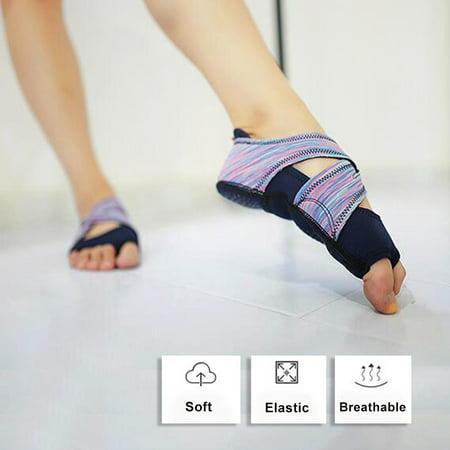 Ccdes Women Yoga Non-slip Pilates Barre Soft Wrap Dance Training Shoes Purple,Yoga Shoes, Barre Training Shoes