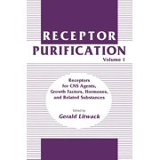 Receptor Purification: Receptor Purification: Volume 1 Receptors for CNS Agents, Growth Factors, Hormones, and Related Substances (Hardcover)