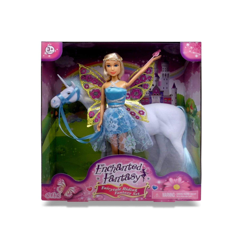 Fantasy Riding Doll Set Fairy by